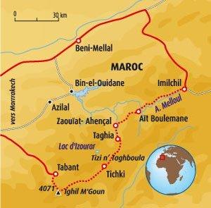 carte maroc general
